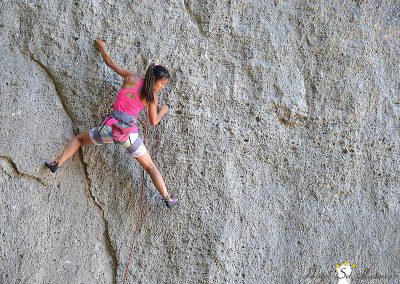 Free Climbing Ulassai Ogliastra Sardegna