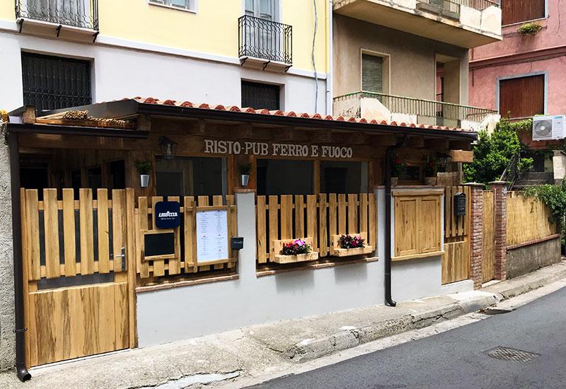 Risto Pub Ferro e Fuoco Ulassai Ogliastra Sardegna